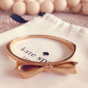 🎀 Kate Spade Skinny Mini Bow Bracelet, Rose Gold
